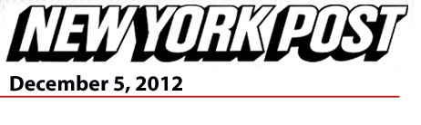 New York Post December 5, 2012